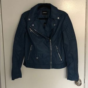 Express vegan leather jacket